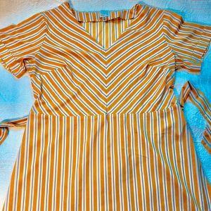 A New Day Striped Dress